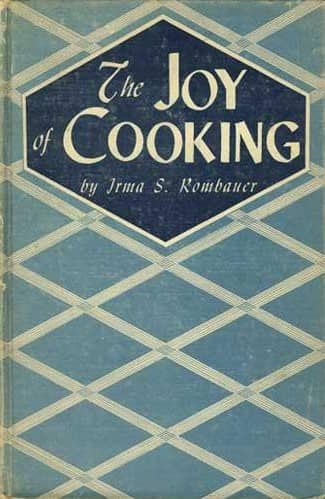 The Joy of Cooking by Irma S. Rombauer, Marion Rombauer Becker, and John Becker book cover