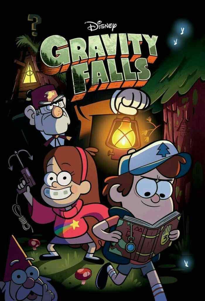 Gravity Falls tv series poster