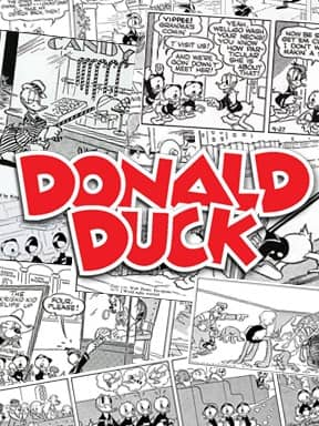 Donald Duck comic book cover