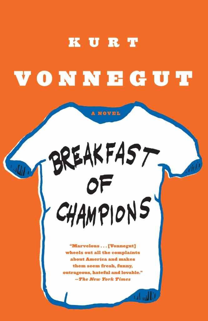 Breakfast of Champions by Kurt Vonnegut book cover