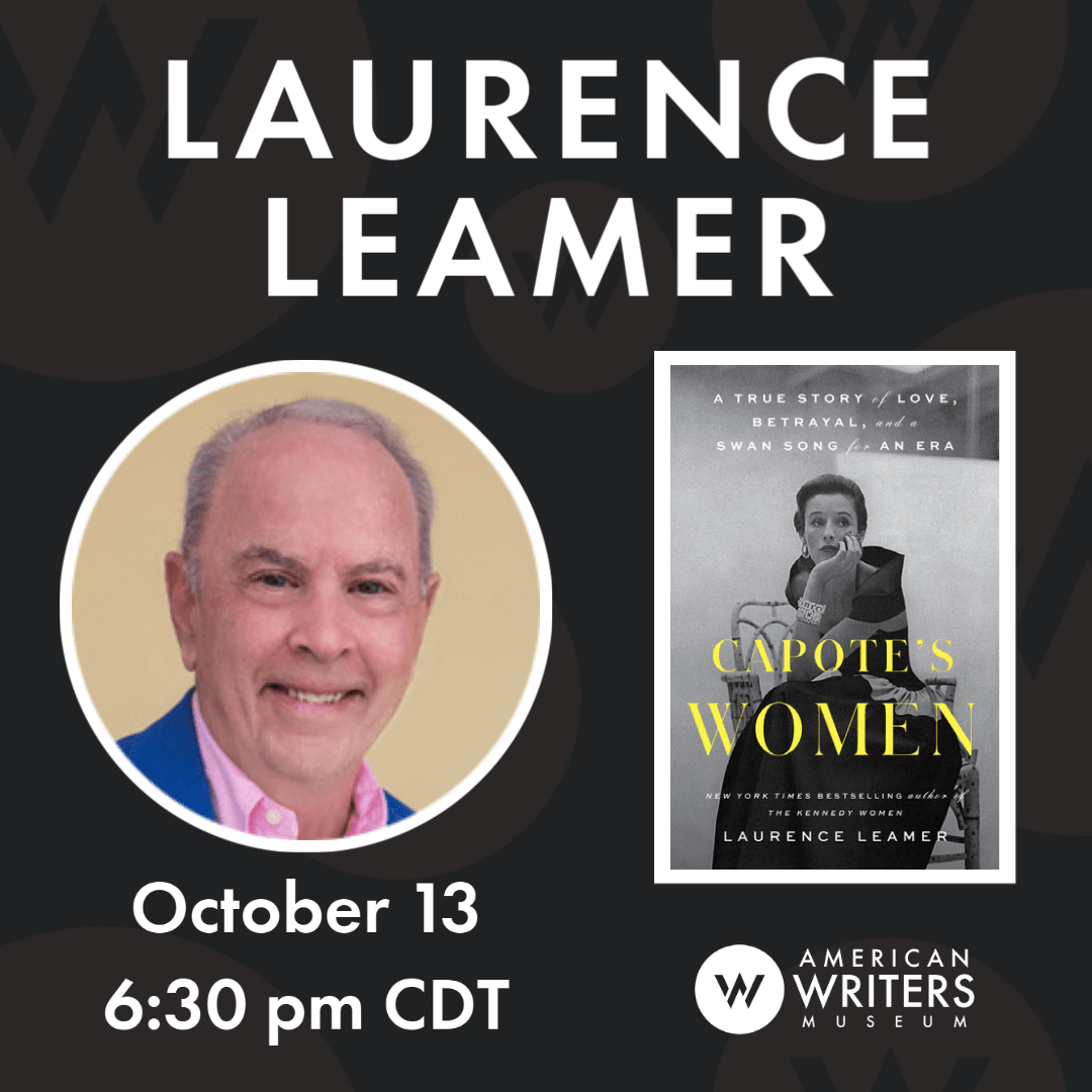 Photo of Laurence Leamer and book cover of Capote's Women