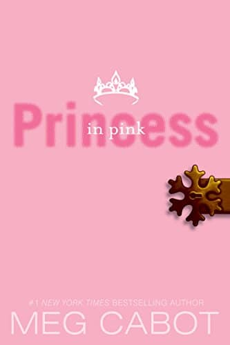 The Princess Diaries, Volume V: Princess in Pink by Meg Cabot book cover