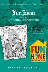 Fun Home: A Family Tragicomedy by Alison Bechdel book cover