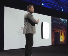 Elon Musk Introduces Tesla Powerwall