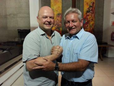 Ruben Costas (TH) og Niels Westy Munch-Holbek