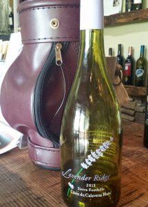 golf and wine