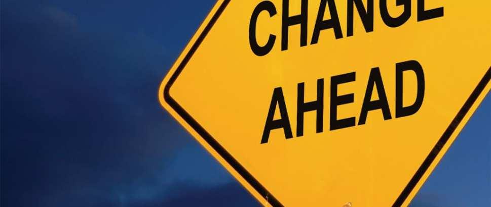 Yo! Change Is Coming! - America's Keswick Christian Retreat
