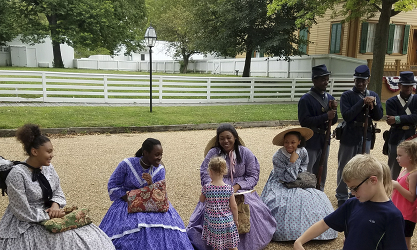 Our Funds At Work: Eastern National and Lincoln Home National Historic Site