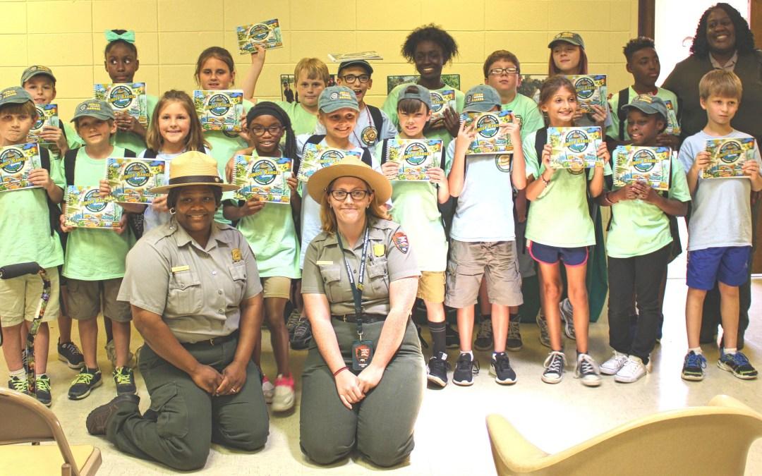 Summer Campers at Vicksburg National Military Park Receive Junior Ranger Passports