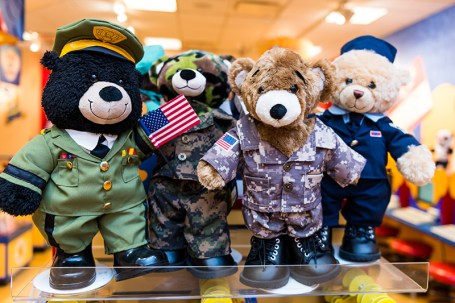 military-bears