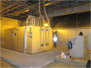 Dehumidification Plant Room