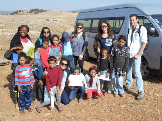 AUA 2014 Summer Service Team in Morocco.