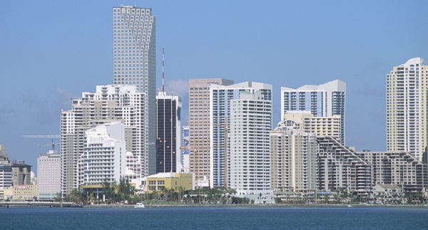 Wolkenkratzer in Downtown Miami