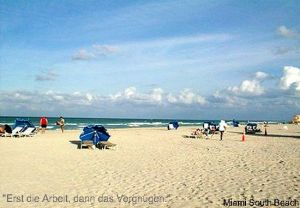 Strand in Miami: South Beach