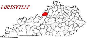 Lage-Louisville-in-Kentucky