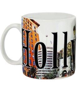 Hollywood Color Relief Mug