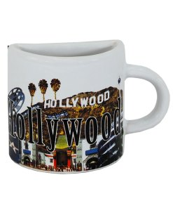 Hollywood Mug Magnet