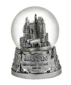 Austin 65mm Snow Globe