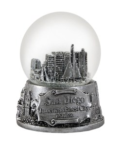San Diego 65mm Snow Globe
