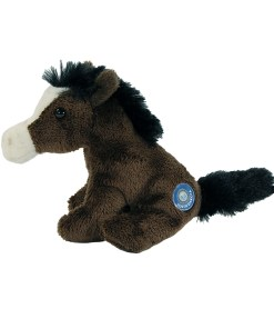 "South Dakota Horse 4"" Clip on Plush Side View"