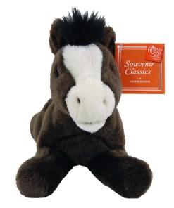 "South Dakota 9"" Plush Horse Front View"