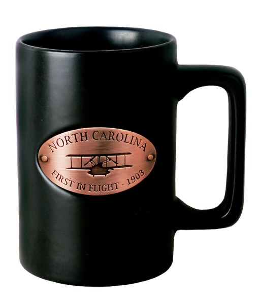 North Carolina Copper Medallion Mug