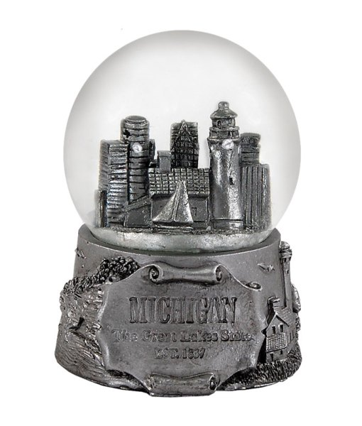 Michigan 65MM Snow Globe