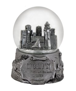 Michigan 65MM Snow Globe