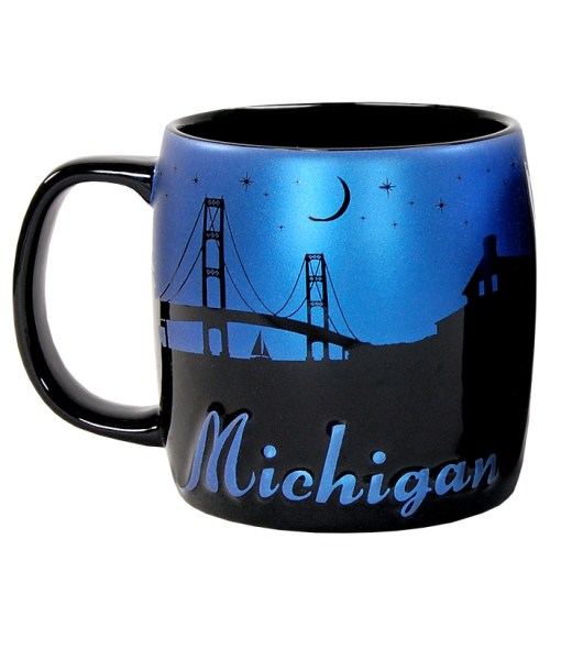 Michigan Night Sky Mug