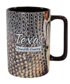 Texas Armadillo Country Novelty Mug