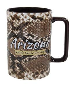Arizona Rattle Snake Country Novelty Mug