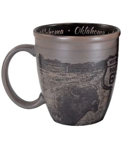 Oklahoma Sketch Mug