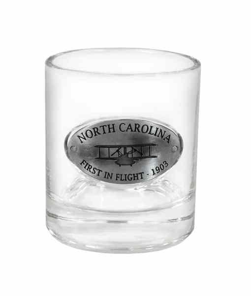 North Carolina Whiskey Glass