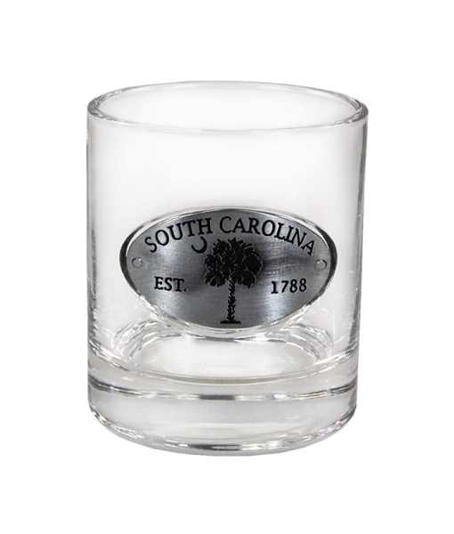 South Carolina Whiskey Glass