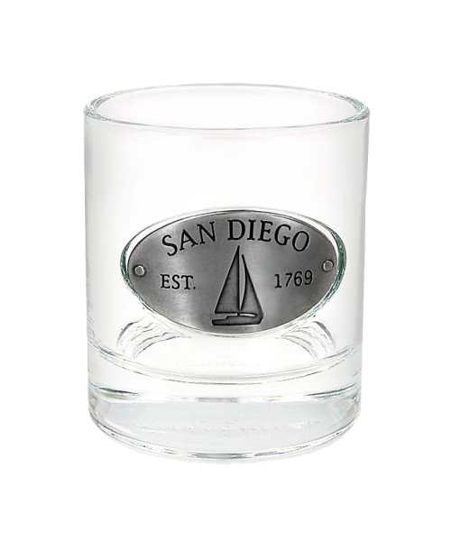 San Diego Whiskey Glass
