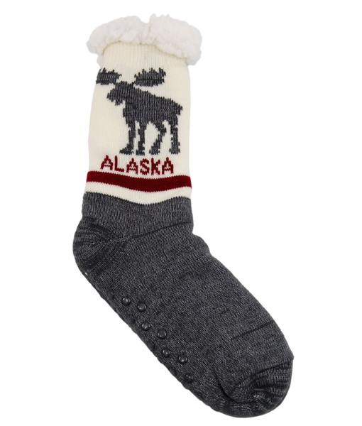 Alaska Adult Slipper Socks