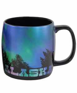 Alaskan Northern Lights Novelty Mug