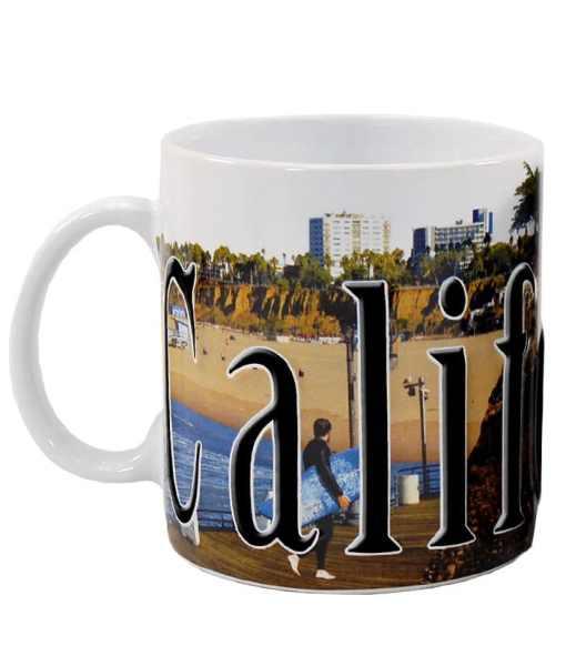 California Color Relief Mug