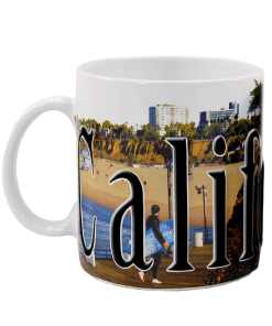 California Color Relief Mug