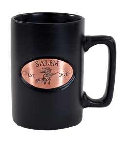 Salem Black Medallion Mug