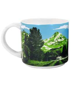 Oregon Stack Mug Back Side