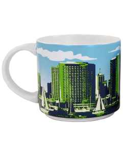 San Diego Stack Mug Back Side