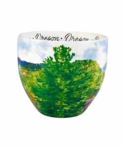 Oregon watercolor mug middle view