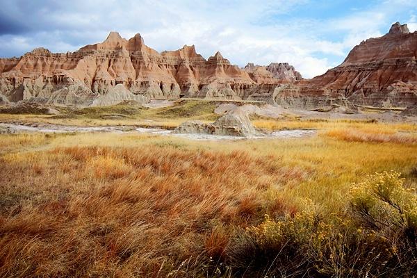 Badlands Red Rocky Hills