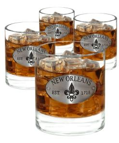 Whiskey Glasses Set of 4