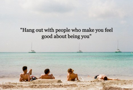 Hangout with friends quotes and captions