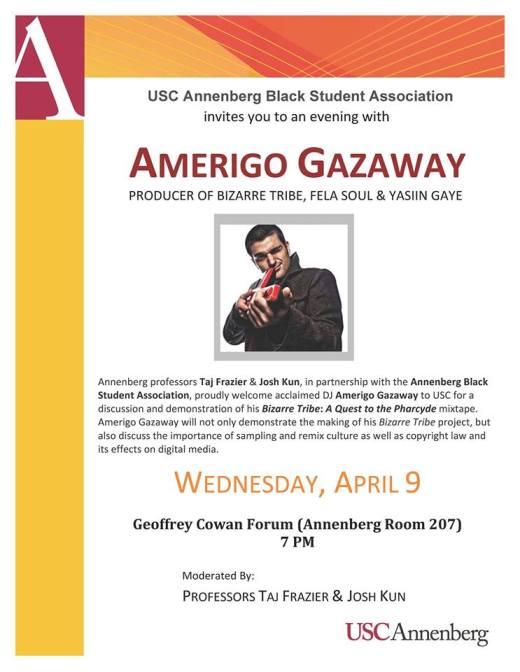 Amerigo Gazaway USC Flyer