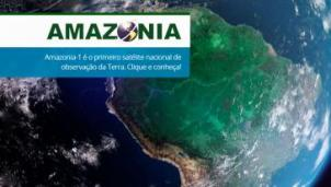 Mit Satelliten-Technik dokumentiert die brasilianische Weltraumbehörde INPE die Entwaldung des Amazonas-Regenwalds