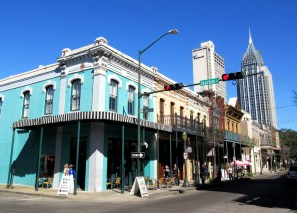 Old meets new in Mobile Alabama