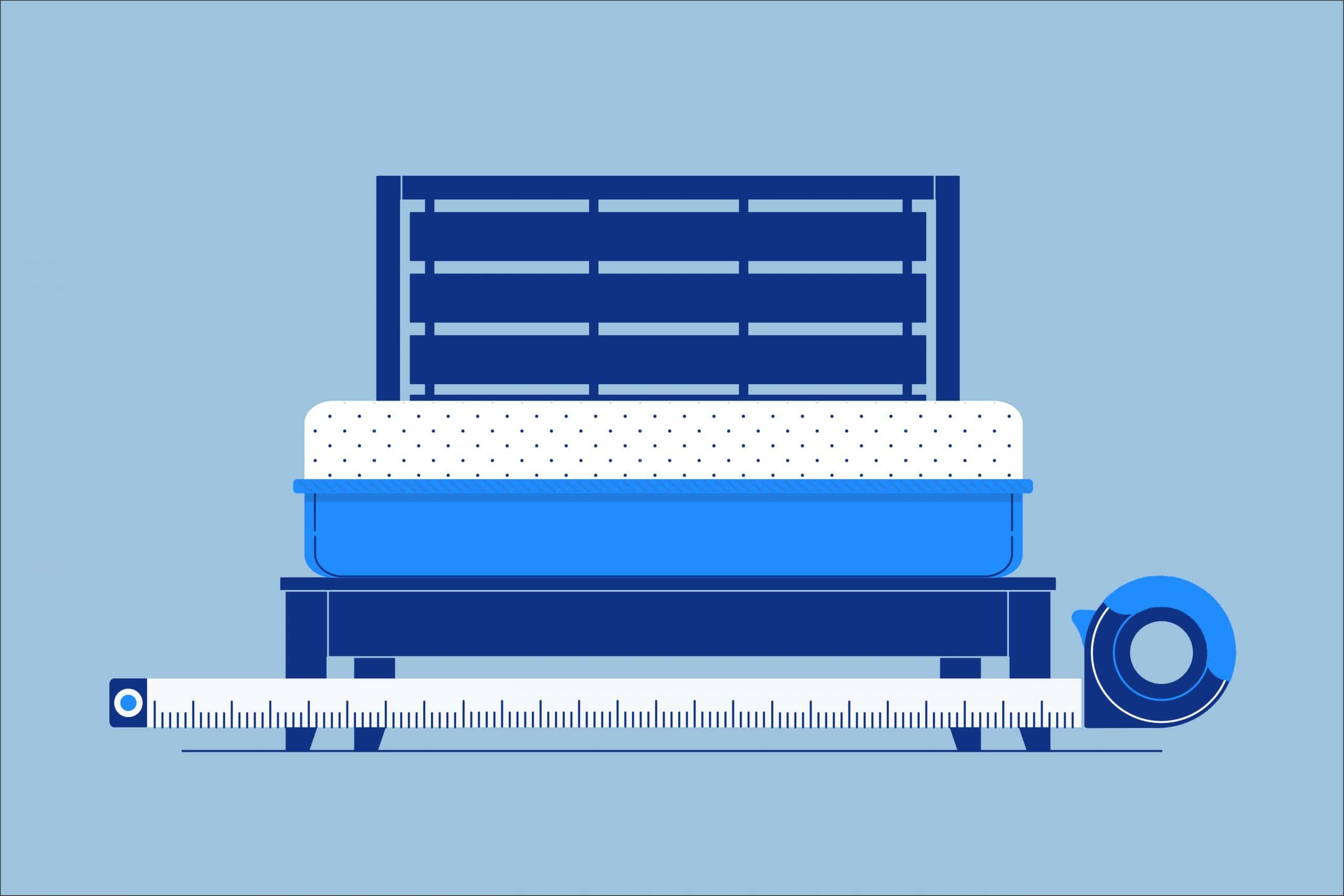 How Wide Is A King Size Bed Frame Amerisleep